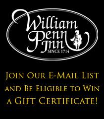 William penn inn brunch coupons