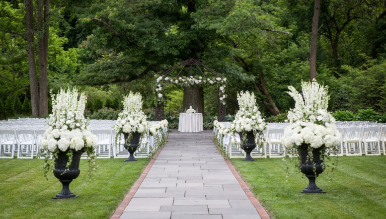 Outdoor Wedding Venues Garden Locations Philadelphia Pa Area Indoor Ceremony Montgomery County William Penn Inn